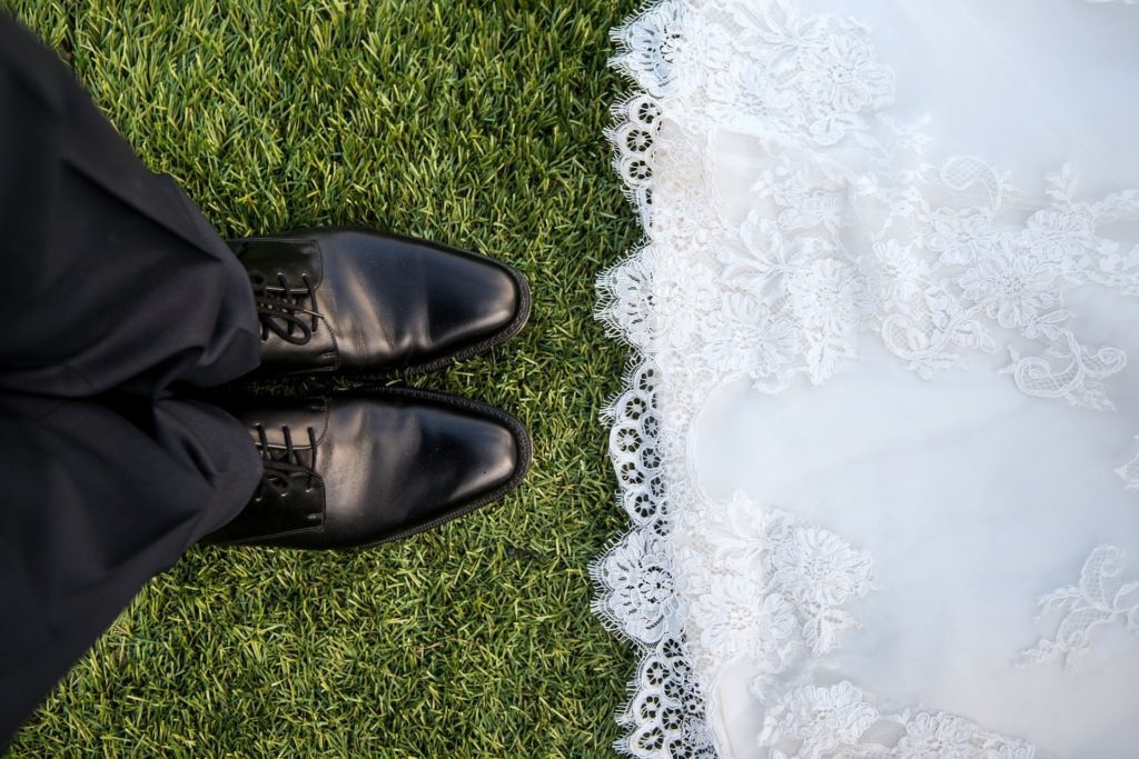 The feet of a married couple has difference legal meaning than common-law relationships