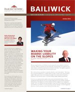 Spring 2016 Quarterly Law Newsletter - Liabilities on the Slope